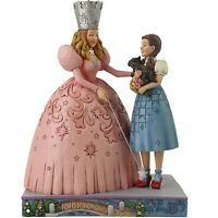 Jim Shore Wizard Of Oz Glinda And Dorothy Ruby Slippers Figurine 6005080 New