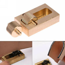 Leather Making Tools Oil Painting Box + 2 Roller Brass DIY Hand Sewing Set Craft