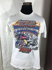 Snap-On Tools White T-Shirt Short Sleeve Thrill Show Atco Raceway Size Medium M