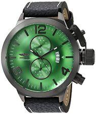INVICTA Corduba Men 5 Stainless Steel Gunmetal Green dial Quartz Watch 23688