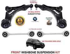 VW Tiguan 2007 >> Avant 2X Bras de Suspension 2x Stabilisateur Lien Barres Kit
