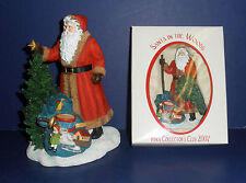 Pipka 2009 Club Kit- New in Boxes- #10150- Bringer of Light & Santa in Woods Orn
