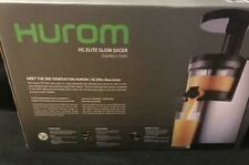 Hurom Elite Slow Juicer Model HH-SBB11 Stainless Steel- THE NEW 2nd GENERATION