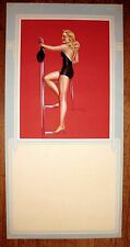 1950 Pin Up Girl Picture by Billy DeVorss Blond In Swimsuit on Diving Board  M