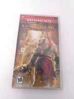 God of War: Chains of Olympus (Sony PSP, 2008) Complete Tested & Fast Shipping