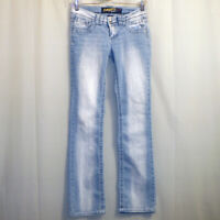 "Angels Bootcut Jeans Women's Size 3 Blue 31 1/4"" Inseam"