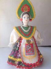 "Russian-Handmade-Souvenir-Character-Doll-New-7"" tall"