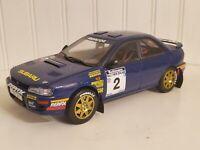 Sun Star 1994 Subaru Impreza 555 #2 McRae/Ringer 1:18 Rally Diecast Car 5502