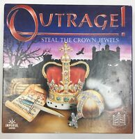 Vintage Outrage Board Game Crown Jewels Tower Of London 100% Complete