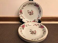 """Meito """"ROSELLA"""" Empire China ~ Set of 4 ~ Soup Bowls ~  7 3/8"""""""