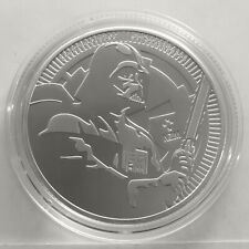 NIUE $ 2 DOLLARS 2020 ( STAR WARS DARTH VADER ) 1oz SILVER coin * UNC * NEW