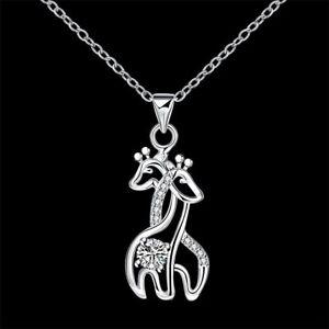 50pcs antique silver color metal giraffe charm metal giraffe pendant 30x43mm CP828