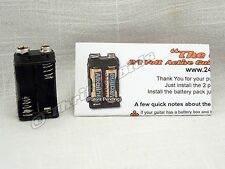 24 VOLT Mod Active Guitar Pickup Battery Pack ™ No Batteries You Supply Your Own
