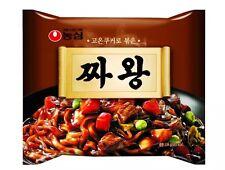 2Packs Jjawang Korean Instant Noodles Black Bean Nongshim Jajangmyun Sauce Ramen