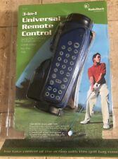 NEW Radioshack 3 in 1 Universal Remote Control - Golf Bag Shape NIP