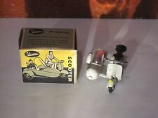 TEKNO DENMARK No 443 VINTAGE 1950'S VESPA SCOOTER WITH SIDECAR W BOX VERY RARE