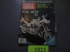 AUGUST 1983 CYCLE GUIDE MAGAZINE SUZUKI GS750ED, YAMAHA TT600, HONDA ATC200X