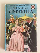 Vintage Ladybird Book, well loved tales Cinderella 2'6 1964 series 606D