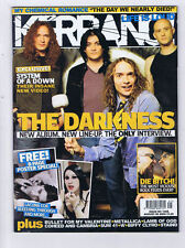 DARKNESS / MY CHEMICAL ROMANCE Kerrang	No.	1068	Aug 	6	2005