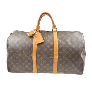 LOUIS VUITTON KEEPALL 50  TRAVEL HAND BAG MONOGRAM M41426 FH0950 20492