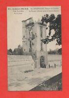 Guerre 1914 - Donjon du château de SILLERY après le bombardement   (K925)