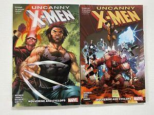 Uncanny X-Men Wolverine and Cyclops set #1-2 Marvel 2 pieces 8.0 VF (2019)