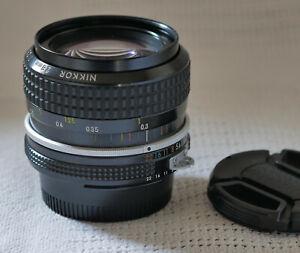 Nikon Nikkor 28mm f2.8 AI manual focus lens in F mount. Excellent.