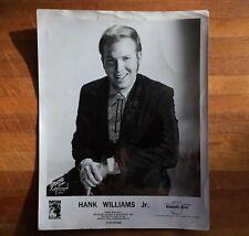 authentic Hank Williams Jr. press photo • MGM Records