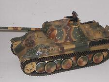 1:18  Panzer V Panther in Tarnfarbe , vom Hersteller gealtertes Fertigmodell