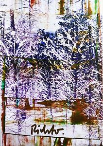 Gerhard Richter-Radierung (Graphik)-Steifpapier-v. Künstler persönlich signiert