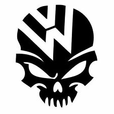 Vw Volkswagen Skull Jetta Rabbit Vinyl Decal Sticker U Pick Size + Color