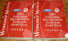 2007 Ford Explorer Sport Trac Mercury Mountaineer Shop Service Manual Vol 1 2