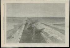 1869 CYPRUS KANTARA Isthmus of Suez Maritime Canal (76)