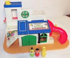 Fisher-Price Little People Play Family Action Sesame Street Clubhouse #937