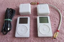 Apple iPod classic 1st Generation White (5GB) and 2nd Generation White (20GB)