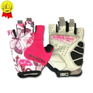 BASECAMP Women Pink Cycling Gloves 2019 Popular Female Fitness Gloves Anti-slip