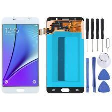 For Samsung Galaxy Note 5 AMOLED Screen Touch Digitizer Glass Part WHITE