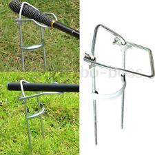 Stainless Steel Fishing Rod Pole Support Stand Bracket Holder Rack Adjustable Bo