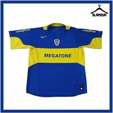More details for boca juniors football shirt nike xl home soccer jersey top cabj 2005 2006 g64