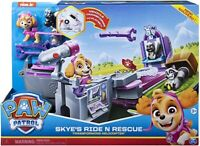 Paw Patrol Skye's 2 In 1 Ride N Rescue Transforming Playset and Helicopter - NEW