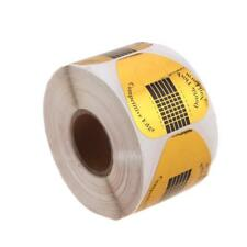 500 Pcs Nail Sculpting Reusable Paper Guide Art Extension Tips Stickers Manicure