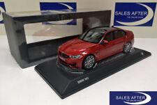 Original BMW Miniatur M3 F80 Competition Paket Sakhir Orange 1:18 Sammlermodell
