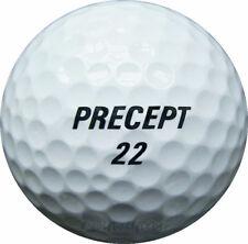 100 precept Mix pelotas de golf en la bolsa de malla aa/AAAA lakeballs used golf balls