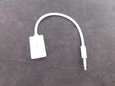 Câble Adaptateur Prise Jack 3.5mm Audio Vers USB femelle  – 1 ACHETE = 1 OFFERT