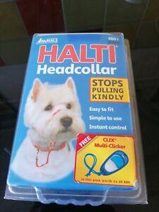 Halti Headcollar - Size 1, Black