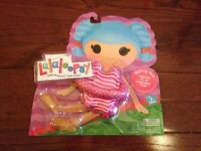 New Lalaloopsy Fashion Pack clothes bathing suit with jelly shoes Nip
