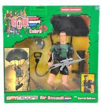 G.I. Joe Vs. Cobra Spy Troops Air Assault Action Figure w/ Barrel Roll 2002 NEW