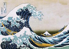 HOKUSAI - GREAT WAVE - GIANT ART POSTER 55x40 - MURAL 52181