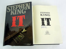 Stephen King Signed Autograph It 1st Edition/1st Printing Hardcover Book
