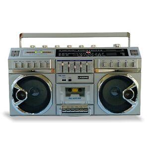 VTG 1984 Lasonic Boombox TRC-922 Tape Radio FM/AM/SW Working FRESH and RAD